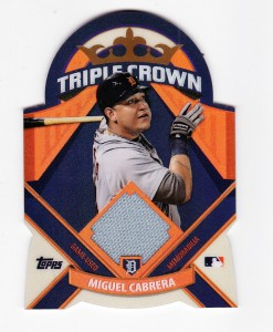 Miguel Cabrera-Baseball Card-Triple Crown